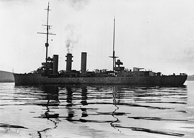 SMS Brummer before her scuttling