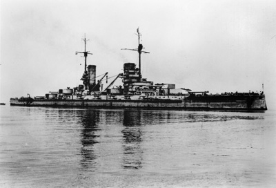 SMS Konig before her scuttling